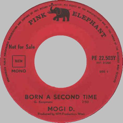 Mogi D. - Born a second time - promo copy