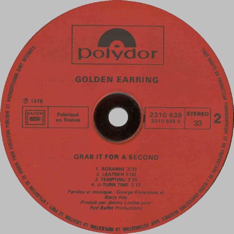 Golden Earring Grab It For A Second